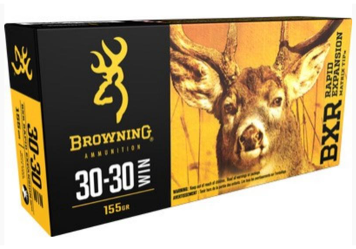 WIN1133-BROWNING BXR 30-30 WIN 155GR REMT 20RNDS