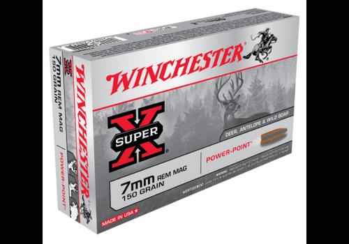 WINCHESTER SUPER X 7MM REM MAG 150GR PP 20RNDS (WIN488)