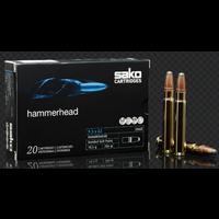 BER471-SAKO HAMMERHEAD 9.3X62 286GR BONDED SP 20RNDS