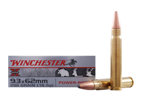 WIN133-WINCHESTER SUPER X 9.3X62 286GR PP 20RNDS