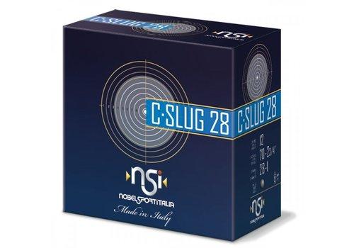 BWA007-SLAB-NSI C-SLUG 12G 28GM #SLUG 250RNDS