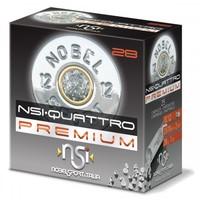 BWA017-NSI (NOBEL SPORT ITALIA) QUATTRO PREMIUM 12G 70MM  28GM #7.5 1378FPS 25RNDS