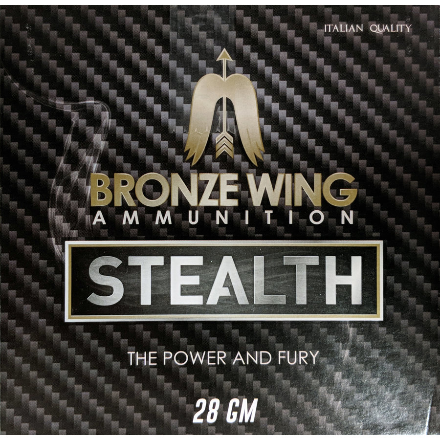 BWA023-BRONZE WING STEALTH 12G 2-3/4INCH 28GM #7.5 1225FPS 25RNDS