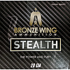 BRONZE WING BWA023-SLAB-BRONZE WING STEALTH 28GM #7.5 250RNDS