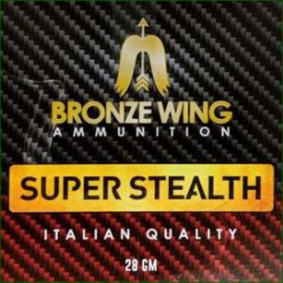 BWA025-BRONZE WING SUPER STEALTH 12G 2-3/4INCH 28GM #8 1275FPS 25RNDS
