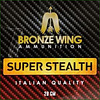 BRONZE WING BWA025-SLAB-BRONZE WING SUPER STEALTH 28GM #8 250RNDS