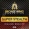 BRONZE WING SLAB-BRONZE WING SUPER STEALTH 12G 28GM #8 250RNDS(BWA025)