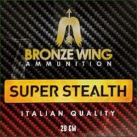 SLAB-BRONZE WING SUPER STEALTH 12G 28GM #8 250RNDS(BWA025)