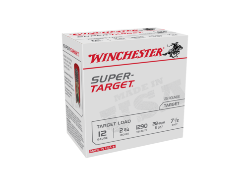 SLAB-WINCHESTER SUPER TARGET 12G 28GM #7.5 1290FPS 250RNDS (WIN1118)