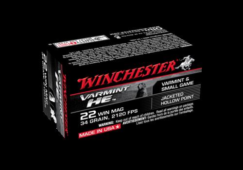 WINCHESTER VARMINT HE 22WMR 34GR JHP 2120FPS 50RNDS (WIN026)