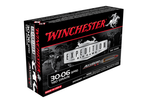 WINCHESTER EXPEDITION BIG GAME 30-06 SPRG 180GR ABCT 20RNDS (WIN023)