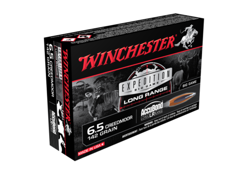 WIN022-WINCHESTER EXPEDITION BIG GAME 6.5 CREEDMOOR 142GR ACCUBOND 20RNDS