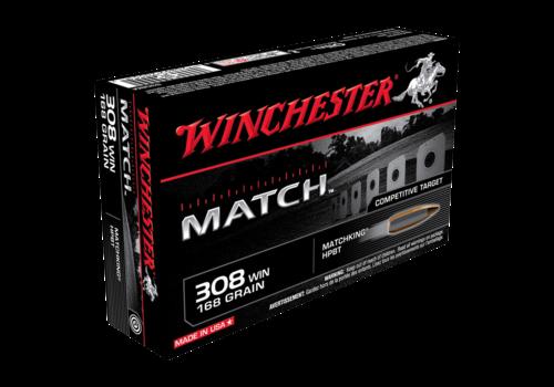 WIN021-WINCHESTER MATCH 308 WIN 168GR HPBT 20RNDS