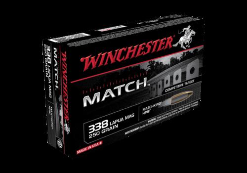 WINCHESTER MATCH 338 LAPUA 250GR HPBT 20RNDS (WIN020)