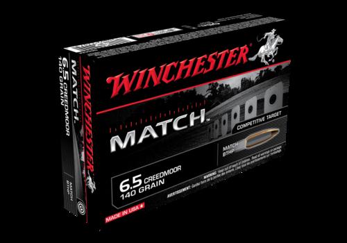 WINCHESTER MATCH 6.5 CREEDMOOR 140GR HPBT 20RNDS (WIN034)