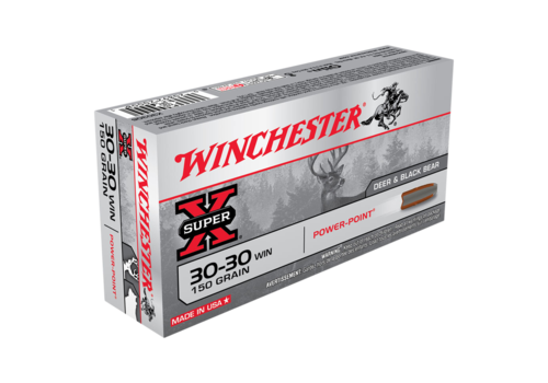 WIN037-WINCHESTER SUPER X 30-30 WIN 150GR PP 20RNDS