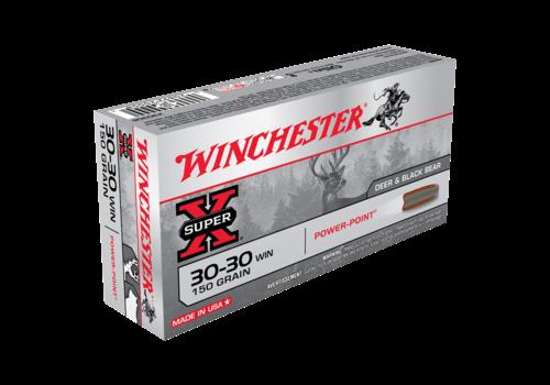 WINCHESTER SUPER X 30-30 WIN 150GR PP 20RNDS (WIN037)