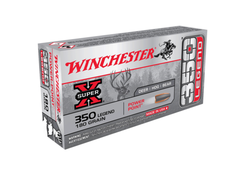 WINCHESTER SUPER X 350 LEGEND 180GR PP 20RNDS (WIN038)