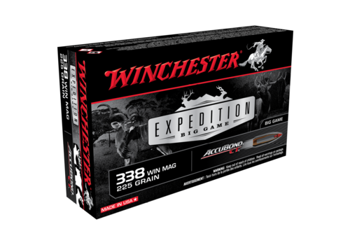 WINCHESTER EXPEDITION BIG GAME 338 WIN MAG 225GR ABCT 20RNDS (WIN039)
