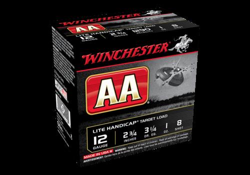 SLAB-WINCHESTER AA LITE HANDICAP 12G 70MM #8 1290FPS 250RNDS (WIN106)