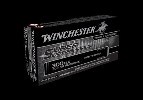 WINCHESTER SUPER SUPPRESSED 300 BLACKOUT 200GR OPEN TIP 20RNDS (WIN042)