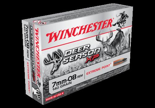 WINCHESTER DEER SEASON 7MM-08 REM 140GR XP 20RNDS (WIN045)