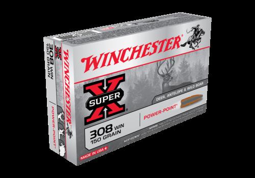 WIN445-WINCHESTER SUPER X 308 WIN 150GR PP 20RNDS