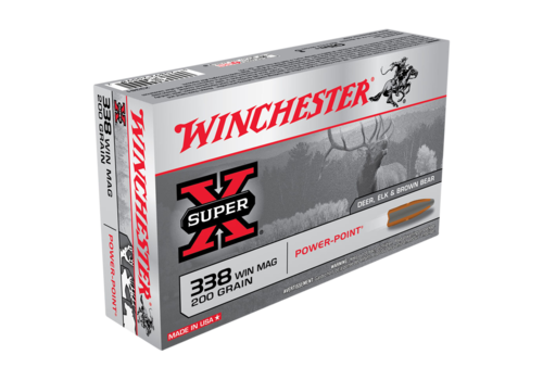 WIN053-WINCHESTER SUPER X 338 WIN MAG 200GR PP 20RNDS