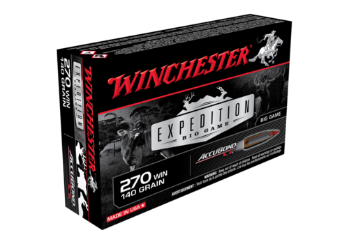 WINCHESTER EXPEDITION BIG GAME 270 WIN 140GR ABCT 20RNDS (WIN056)