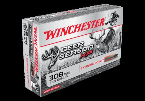 WIN040-WINCHESTER DEER SEASON COPPER IMPACT LF 308 WIN 150GR XP 20RNDS