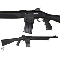 "NIO019-ADLER B230 12G 20"" TACTICAL STRAIGHT PULL SHOTGUN 5 SHOT DM"