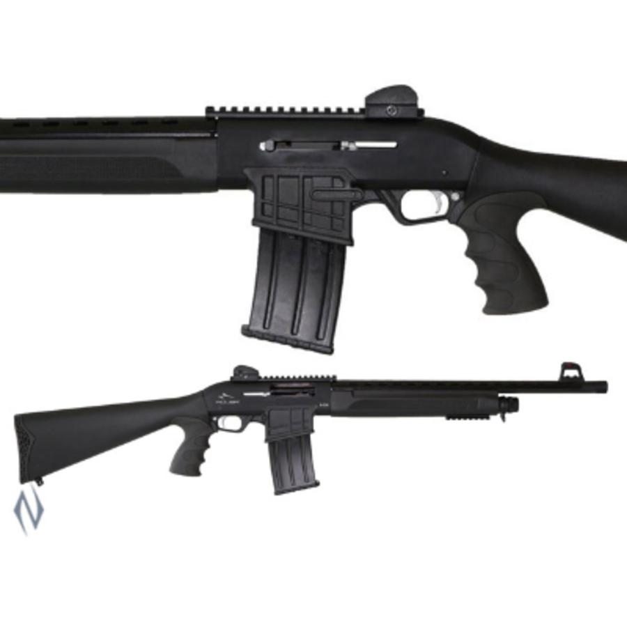 "ADLER B230 12G 20"" TACTICAL STRAIGHT PULL SHOTGUN 5 SHOT DM (NIO019)"