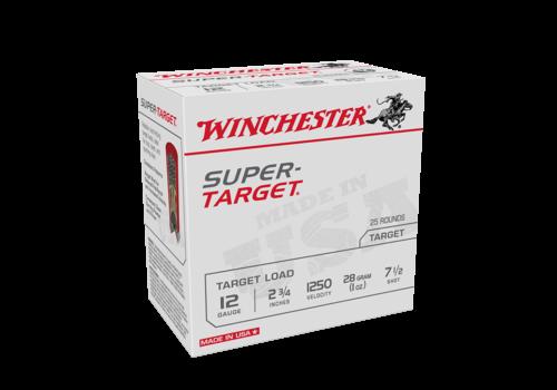 WIN1114-WINCHESTER SUPER TARGET 12G 70MM 28GM #7.5 1250FPS 25RNDS
