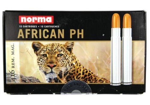 WIN145-NORMA AFRICAN PH 416 REM 450GR RNSN 10RNDS