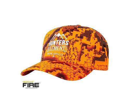 HUNTERS ELEMENT VISTA CAP DESOLVE FIRE(HUE462)