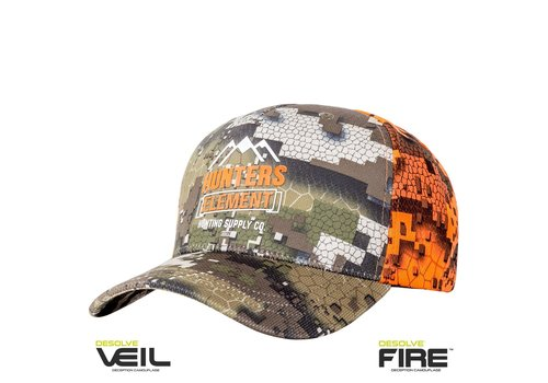 HUNTERS ELEMENT VISTA CAP DESOLVE VEIL/FIRE(HUE460)