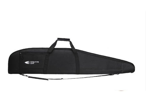 EVO031-Gun Bag- Evolution 52'' Rifle SOFT CASE BLACK THICK PADDING AND 1680D EXTERIOR
