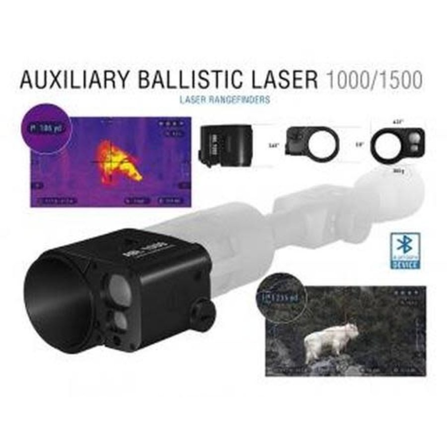 ATN ABL SMART RANGEFINDER LRF 1000M W/BLUETOOTH (OSA1005)