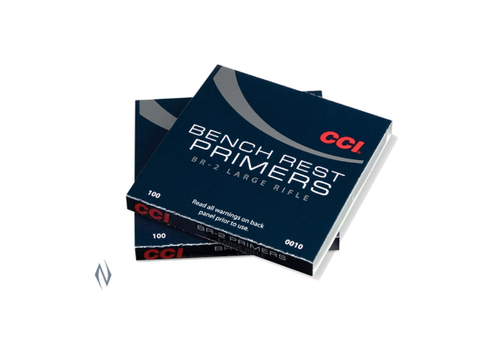 NIO1083-PRIMERS-CCI BR2 BENCHREST LARGE RIFLE 100RNDS