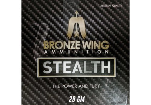 BWA053-BRONZE WING STEALTH 12G 2-3/4INCH 28GM #8 1225 FPS 25RNDS