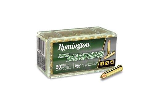 RAY447-REMINGTON PREMIER MAGNUM RIMFIRE 22WMR 33GR ACCUTIP-V 50RNDS
