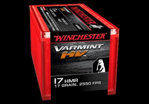 WIN024-WINCHESTER VARMINT HV 17HMR 17GR V-MAX 2550FPS 50RNDS
