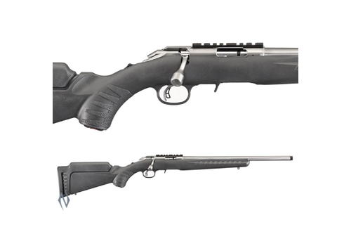 RUGER AMERICAN RIMFIRE 22LR STAINLESS THREADED (NIO1063)