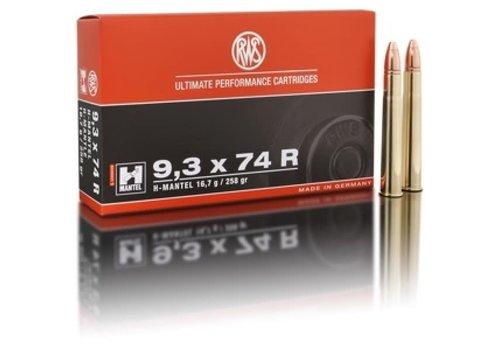 RWS H-MANTEL 9.3X74R 258GR 20RNDS (OSA2115)