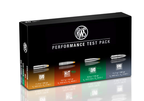 RWS PERFORMANCE TEST PACK 308 WIN 20RNDS (OSA146)