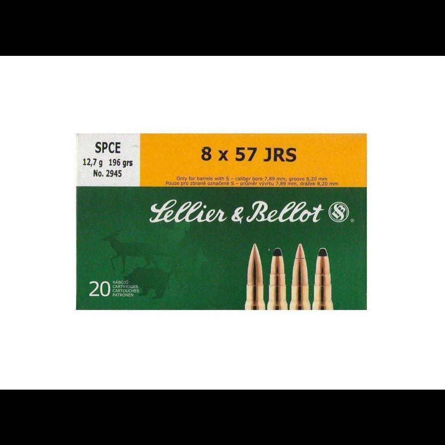 BER1250-S&B 8X57 JRS 196GR SPCE 20RNDS