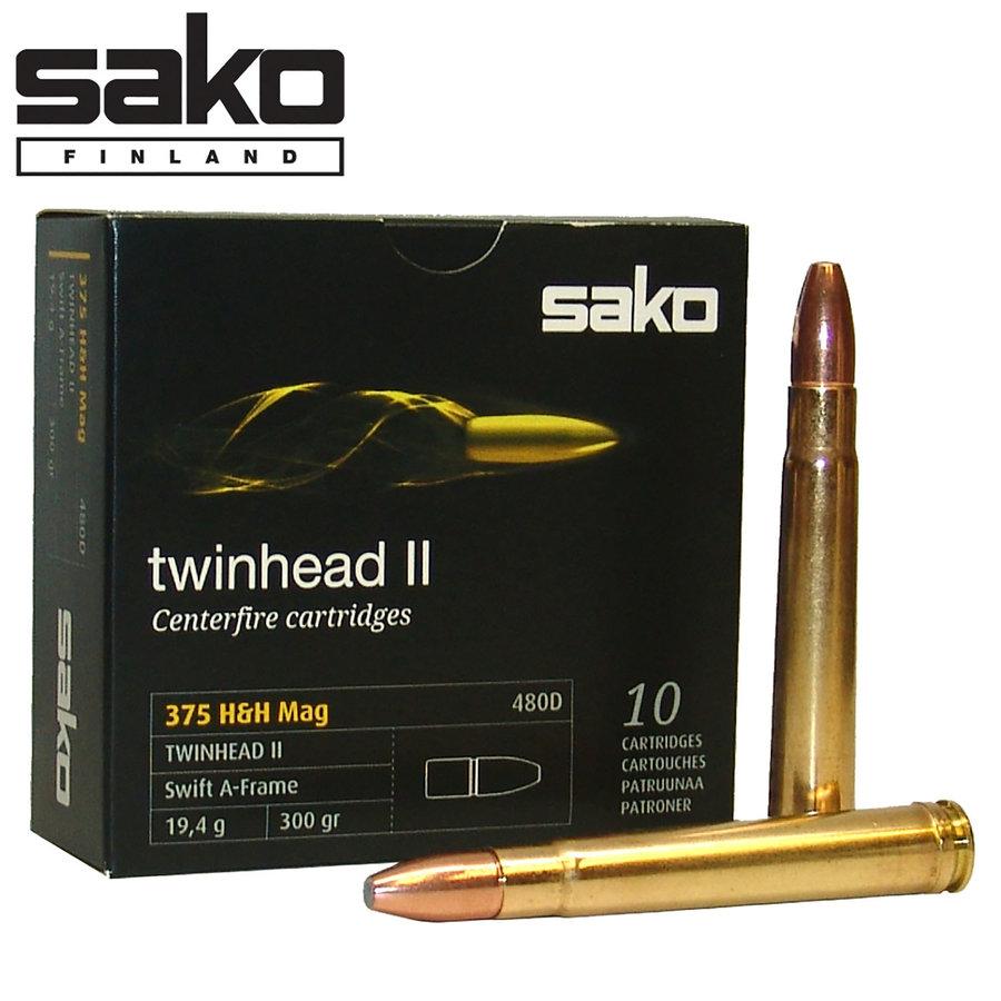 BER700-SAKO TWINHWAD II 375 H&H 300GR SWIFT A-FRAME 10RNDS