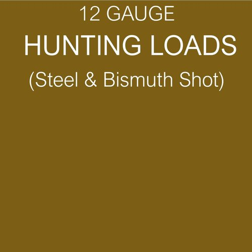 HUNTING (STEEL & BISMUTH SHOT)