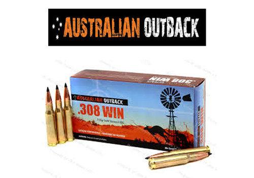 OSA2191-AUSTRALIAN OUTBACK 308 WIN 168GR SIERRA TIPPED MATCHKING  20RNDS