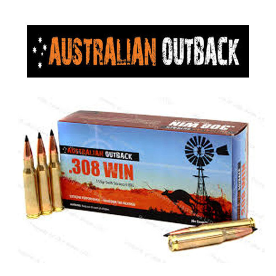 OSA2191-AUSTRALIAN OUTBACK 308 WIN 168GR SIERRA TIPPED MATCHKING  20RNDS